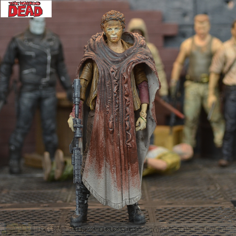 The Walking Dead A Dead-Alive Person Carol Eighth Generation 5 Inch Action Figure Toys<br>