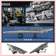 Low Price LEPIN 05028 3208Pcs Star War Execytor Super Star Destroyer DIY Active Building Block Assemble Model Brick Kid Toy Gift
