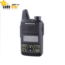 Original BAOFENG T1 MINI Two Way Radio BF-T1 Walkie Talkie UHF 400-470mhz 20CH Portable Ham FM CB Radio Handheld Transceiver