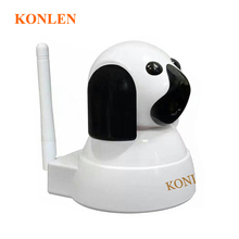 Dog Mini Video IP Camera WIFI Home Baby Monitor 720P HD SD PTZ Audio Night Vision Wireless Camaras de seguridad Security System(Hong Kong)