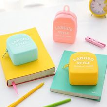 Candy Color Back Pack Coin Purse Silica Children's Wallet  Kids Purse Girl Bag Ladies Admission Package