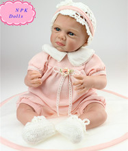 Top Quality 50cm NPK Dolls Soft Silicone Reborn Baby Dolls Adorable Soft Vinyl Baby Dolls for children Brinquedos