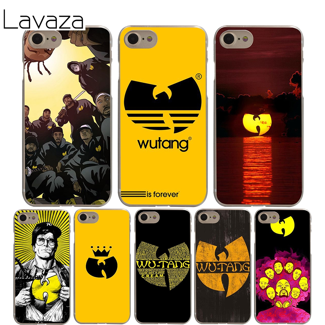 Lavaza Wu Tang Clan Cover Case iPhone X 10 8 7 6 6S plus Cases Apple 5 5S 5C SE 4 4S Coque Shell