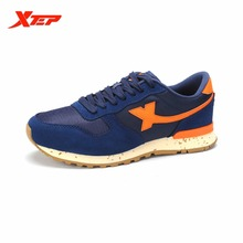 XTEP Brand 2016 Summer Men's Running Shoes Breathable Sports Shoes Trainers Athletic Shoes Sneakers Plus Big Size 985119323302(China)