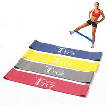 Fitness Resistance Band Set 4 Levels Elastic Latex Strength Training Athletic Rubber Loops Yoga Bands Workout Fitness Equipment