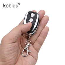 Kebidu Fashion Wireless Auto Remote Control Cloning Gate for Garage Door Remote Control Portable 433Mhz Auto Duplicator Key(China)
