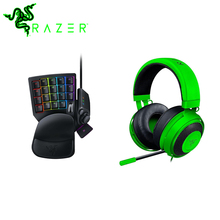 Razer Kraken Pro V2 Gaming Headphone for PC Xbox One for Sony PlayStation 4 Headset Razer Tartarus V2 Chroma Gaming Keypad(China)