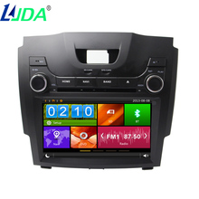 "LJDA 2din 8"" Wince Car Audio Auto display Car DVD Player GPS Navigation For Chevrolet S10 Car Multimedia Video Ipod rear camera(China)"