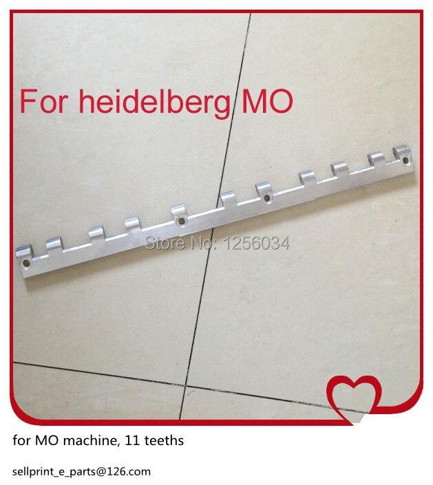 2 pieces free shipping printing gripper bar for mo heidelberg, 11 teeths<br><br>Aliexpress