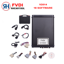2017 New Arrival Best price FVDI Full Version (Including 18 Software) FVDI ABRITES Commander FVDI Diagnostic Scanner in stock(China)