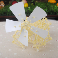 Plastic Wind Powered Mini Strandbeest DIY Models Robot Toy Puzzle Gift