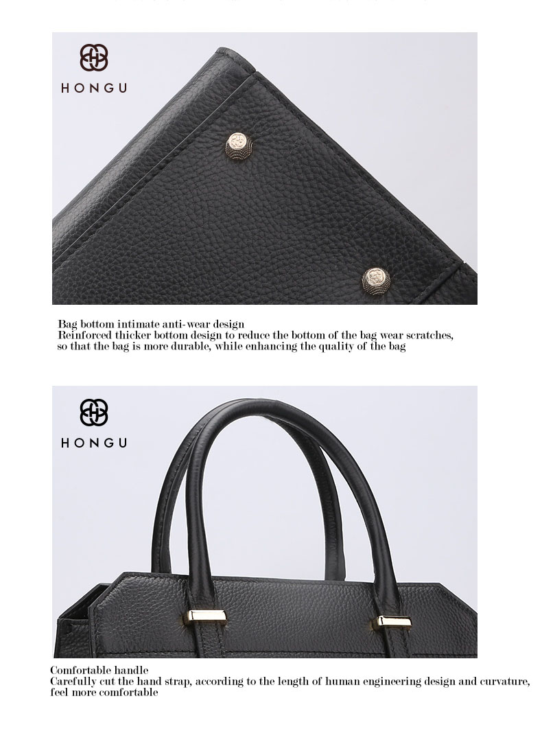 Famous luxury Brands Women Genuine Leather Bag Ladies Tote Embossed leather Boston handbags 2017 Fashion Female Versatile Bag H51340227 (12)