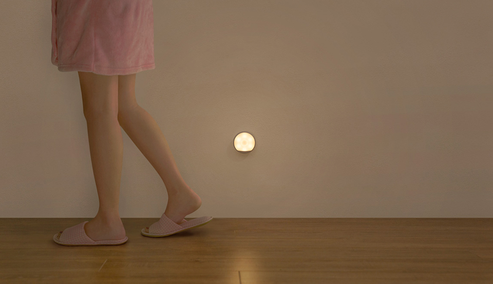 Xiaomi Yeelight LED Infrared Human Motion Sensor Night Light Smart USB Rechargeable Nightlight Magnetic Lamp Easy Installation (26)