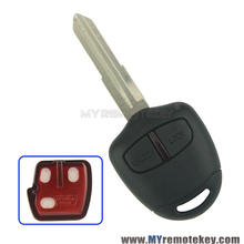 Remote key for 2006-2015 Mitsubishi outlander ASX 2 button MIT11R profile 433mhz with ID46 chip remtekey