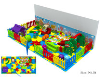 Exported to Turkey Soft Indoor Playground CE Approved Kindergarten Playground Set 151016-A