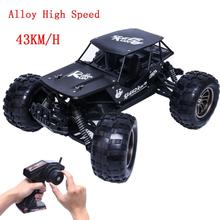 1:12 2.4G 2WD Alloy High Speed RC Monster Truck Remote Control Off Road Car RTR Toy 2 Wheel Shaft Drive 32 x 26 x 16cm Dirt Bike