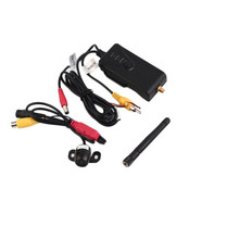 2.4Ghz WIFI Transmitter +Car Reverse Backup Camera video Receiver Rear View Reversing For iPhone IOS/ Android phones