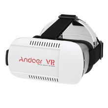 Andoer Virtual Reality Glasses 3D VR Box Glasses Headset Universal for Android iOS Windows Smart Phones with 4.7 to 6.0 Inches(China)
