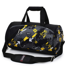 New Unisex Waterproof Gym Bag Big Capacity Fitness Men Training Shoulder Bag Traveling Sports Bag For Luggage Pack(China)