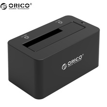 "ORICO 6619US3 5Gbps Super Speed USB 3.0 to SATA Hard Drive Docking Station for 2.5''/ 3.5"" Hard Drive-Black"