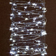10M 100 LEDs 3AA Battery Operated Mini LED Copper Wire String Fairy Lights Christmas Wedding Centerpiece Lighting Decoration(China)