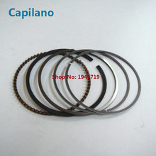 motorcycle piston ring AN125 for Suzuki 125cc AN 125 engine cylinder spare parts 52mm diameter