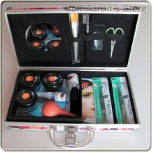 New Pro Eye Lash False Eyelashes Eyelash Extension Kit Gule Perming Make Up Beauty Product Tool Full Set(China)