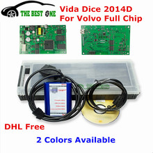 DHL Free 2014D Full Chip For Volvo Vida Dice To 2015 Diagnostic Tool Vida Dice Pro For Volvo Green Board Dice Pro Code Reader