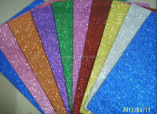 Handmade Material Of EVA Foam Paper Sheet With Glitter For DIY Gifts Toys without sticker
