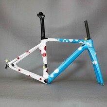 Carbon racing frame Carbon Road Frame Bicycle New Design Carbon Road bike Frame TT-X1 , child bike size girl bike
