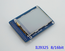 NoEnName_Null 2.4 inch LCD module display ILI9325 with touch and PCB panel 40pin 8/16bit TFT screen