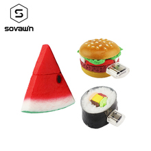 Sovawin Real like Tasty Food PVC Usb Flash Drive Pendrive 64 gb 32gb 16gb Mini Memory Stick Cool Gifts High Speed