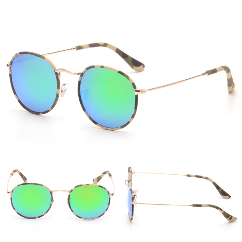 6 Camouflage Colors Cloth Wrap Coating Glasses Eyewear Hot New Vintage Fashion Summer Cool Sunglasses Women Men Brand Designer<br><br>Aliexpress
