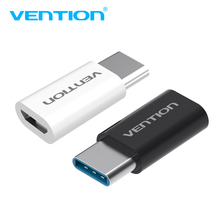 Vention USB Type C to Micro USB Adapter USB C OTG Adapter Micro USB Type-C Converter For Xiaomi 4C 6 mi6 LG Macbook Nokia Tablet(China)