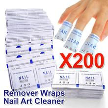 Belen New 2015 Professional Manicure 200 Pcs Gel Polish Remover Wipes High Quality Nail Gel Polish Nail Art Cleaner