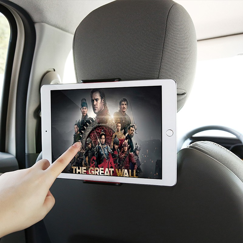 Car Phone Holder Back Seat Tablet Bracket 4-11 Inch 360 Degree Car Holders For iPhone X 8 iPad 2 3 4 Mini Mi Pad 2 3 Mediapad (3)