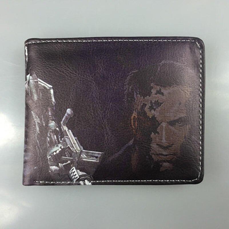 Comics DC Marvel brand Wallet Terminator Leather Purse Cartoon Animation Creative Bags Men Wallets carteira masculina couro<br><br>Aliexpress