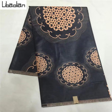 New Arrive Unique Design Nigerian Real Java WAX 6yards/pcs African wax fabric best choice hot selling in african market B710-7(China)