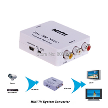 PAL/NTSC/SECAM to PAL/NTSC Mini Bi-directional TV Video Format System Converter