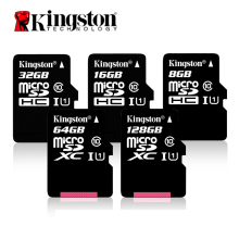Kingston Class 10 Micro SD Card 16GB 32GB MicroSDHC Memory Card 8GB Class 4  MicroSD Card UHS-I TF Card 64GB MicroSDXC