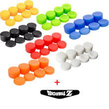 Extra High Joystick Thumbstick Anti-slip Silicone Rubber cap+LED Light Bar Sticker for PS4 PS3 Xbox One Xbox 360 Controller