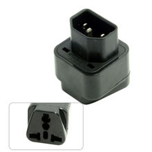 IEC320 C14 C13 Socket to USA Europe UK Australian All in One Combo Power Adapter 5PCS/lot