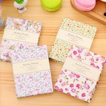 1Pcs South Korea Creative New Fashion Flower Memo Pads Memo Note Message Book Mark Notepad Sticky Stationery Diary Notebook 7043(China)