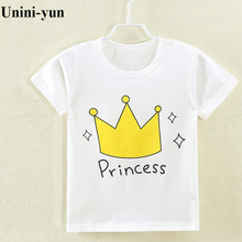 [Unini-yun]New Fashion Summer Blouse boys t shirt kids clothing 100% cotton childrens clothes short Sleeve tee Cartoon(China)