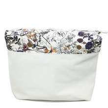 1 pcs classic white flower inserts lining inner bag for o big bag 2017 free shipping