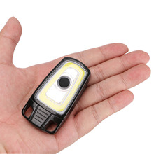 USB Rechargeable COB LED Flashlight Mini Pocket Torch 3 Modes Portable Flash Lamp Lanterna Red Lighting For Hunting Camping(China)