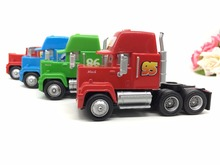 Disney Pixar Cars 2 Mack Uncle No.95# 86# 43# & Francesco Truck Diecast Metal Toy 1:55 Car Give Child The Best Christmas Present