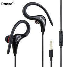 Buy sport earphone bass Music Headset Stereo handsfree Headphones Mic 3.5mm Earbuds Mobile Phone Tablet MP3 for $1.91 in AliExpress store