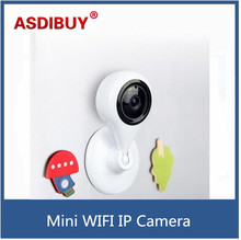 Small wireless wifi ip camera home security baby care mini network camera 720P resolution 110 degree view angle