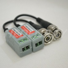2PCS HD CVI/AHD/TVI Video Balun Twisted BNC CCTV Passive Transceivers UTP Balun BNC Cat5 CCTV UTP for CCTV CAMERA